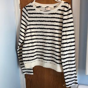 Anthropologie Striped Sweater Size M
